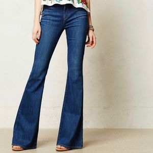 J Brand High Rise Flare Jeans Valentina Size 26
